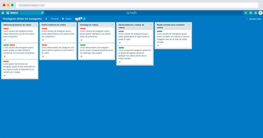 screen trello tool work from home