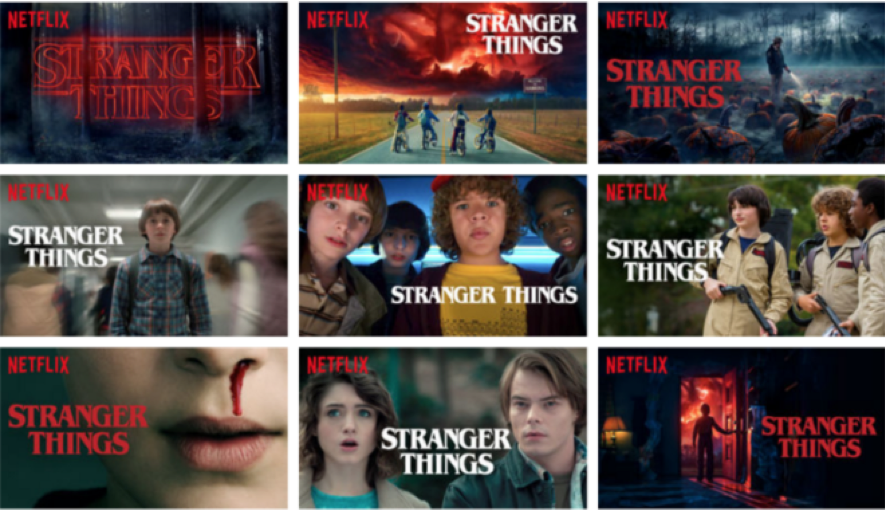 Machine learning applied to stranger things on netflix