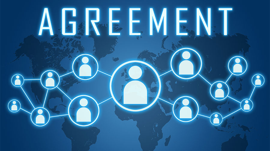 blockchain consensus agreement concept