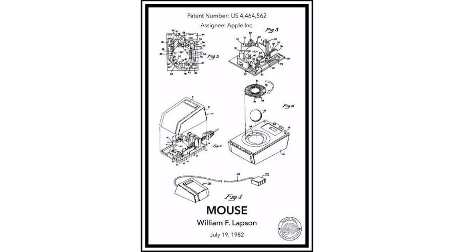 Mouse design by Steve Jobs