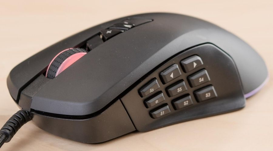 Modern button computer mouse