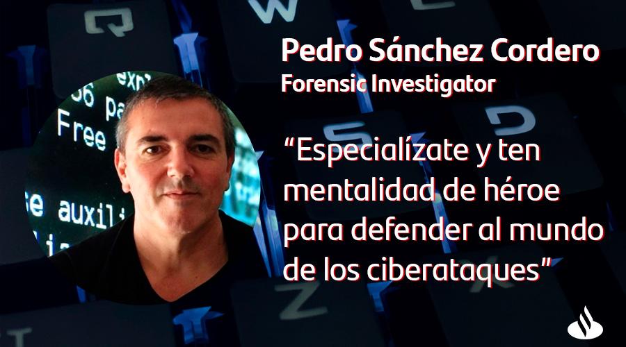 Pedro Sanchez - top cyber influencer - es forensic investigator en santander