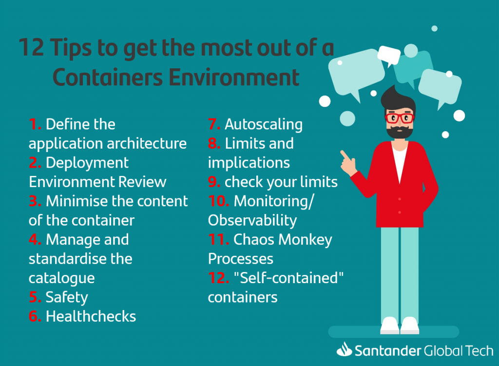 12 Tips to get the most out of a Containers Environment