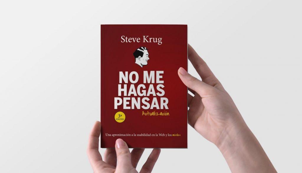 """book """"don't make me think"""" - Steve Krug"""